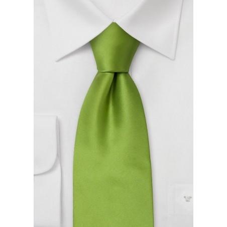 Narrow tie - Solid color retro style skinny necktie