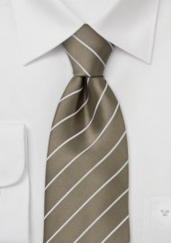Elegant Business Tie -  Golden-Brown Color