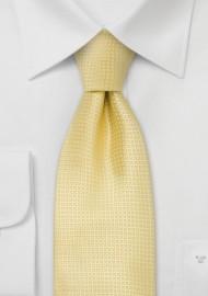 158753041eb1 Silk neckties - Light yellow silk tie