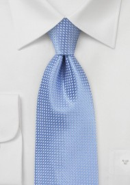 Blue Extra Long Ties - Sky blue XL necktie