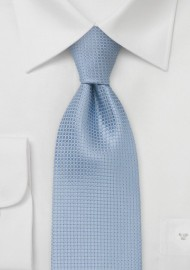 Extra Long Light Blue Tie