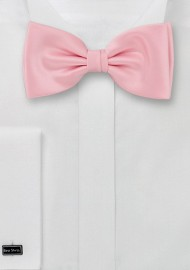 Bow ties  -  Solid color pink bow tie