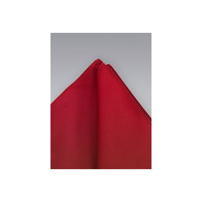 Pocket squares -  Cherry red pocket square
