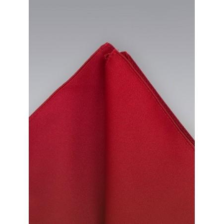 Pocket squares -  Cherry red pocket square