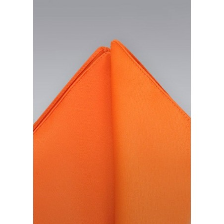 Pocket squares - Bright orange pocket square