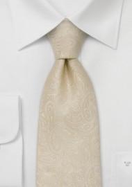 Extra Long Ties - XL paisley design necktie