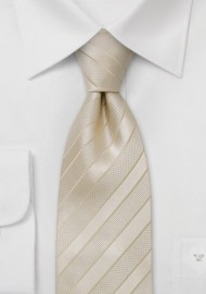 Champagne Wedding Tie for Kids