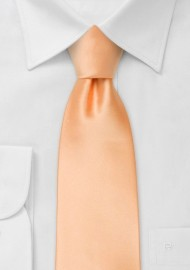 Apricot neckties - Solid apricot-orange tie