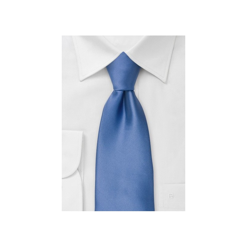 Extra Long Ties - Sky blue XL necktie