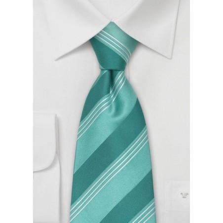 Extra Long Designer Ties - Moss Green XL Tie by Cavallieri