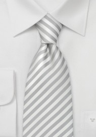"Formal Mens Ties - Striped Tie ""Signals"" by Parsley"