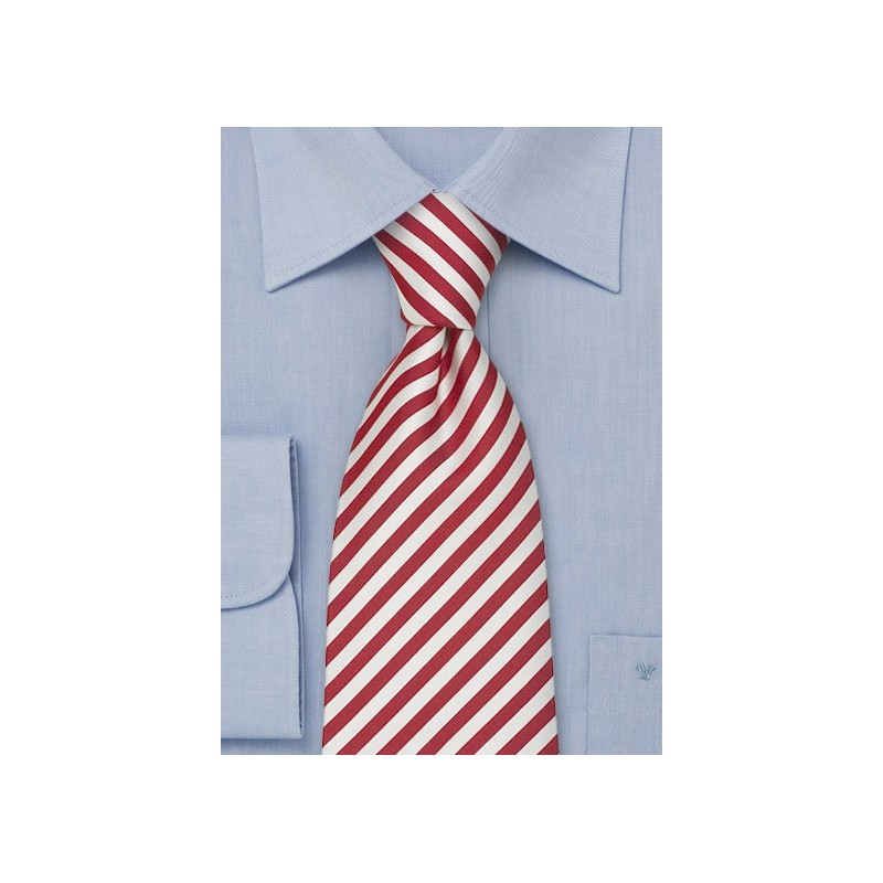 """Striped Silk Ties - Striped Tie """"Signals"""" by Parsley"""