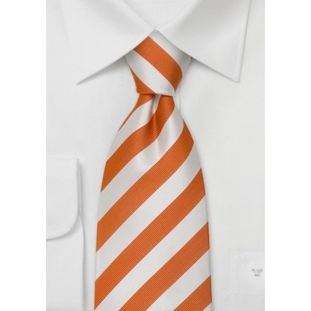 """Striped Extra Long Mens Ties - Striped Necktie """"Identity"""" by Parsley"""
