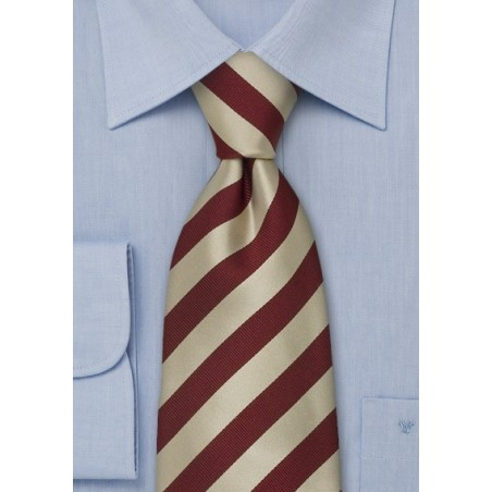 """Extra Long Striped Neckties - Striped Tie """"Identity"""" by Parsley"""