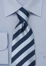 "Striped XL Neckties - Striped Tie ""Identity"" by Parsley"