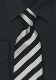 "Extra Long Business Ties - Striped Necktie ""Identity"" by Parsley"