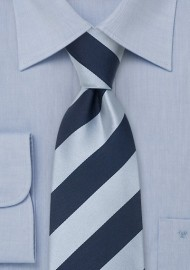 Blue Striped Neckties - Silk tie by Parsley