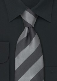 "Extra Long Ties - Striped XL Tie ""Lighthouse"" by Parsley"