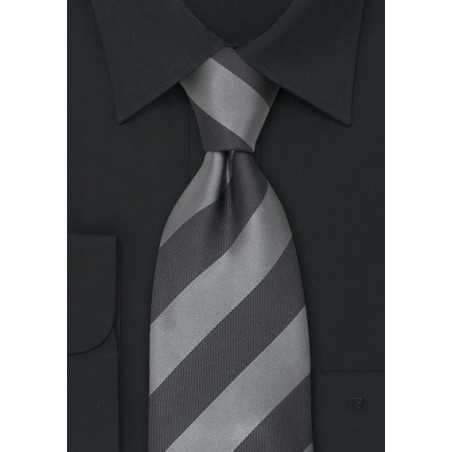 """Extra Long Ties - Striped XL Tie """"Lighthouse"""" by Parsley"""