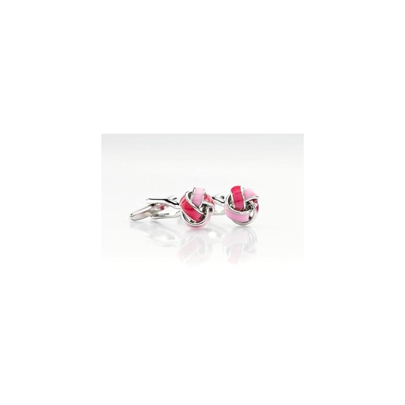 Pink Cufflinks - Designer cufflinks by Mont Pellier