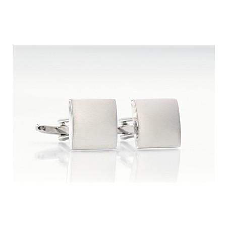 Brushed Steel Cufflinks
