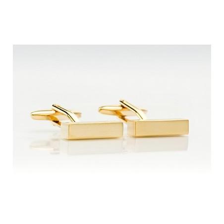 Gold Cufflinks - Classic Golden Cufflinks