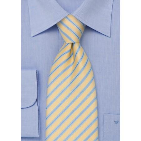 Light Yellow Necktie