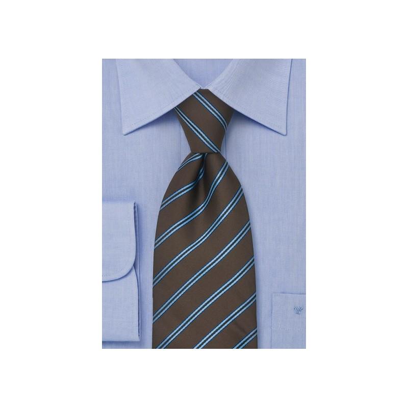 Chocolate Brown Necktie