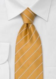 Amber Yellow Kids Tie