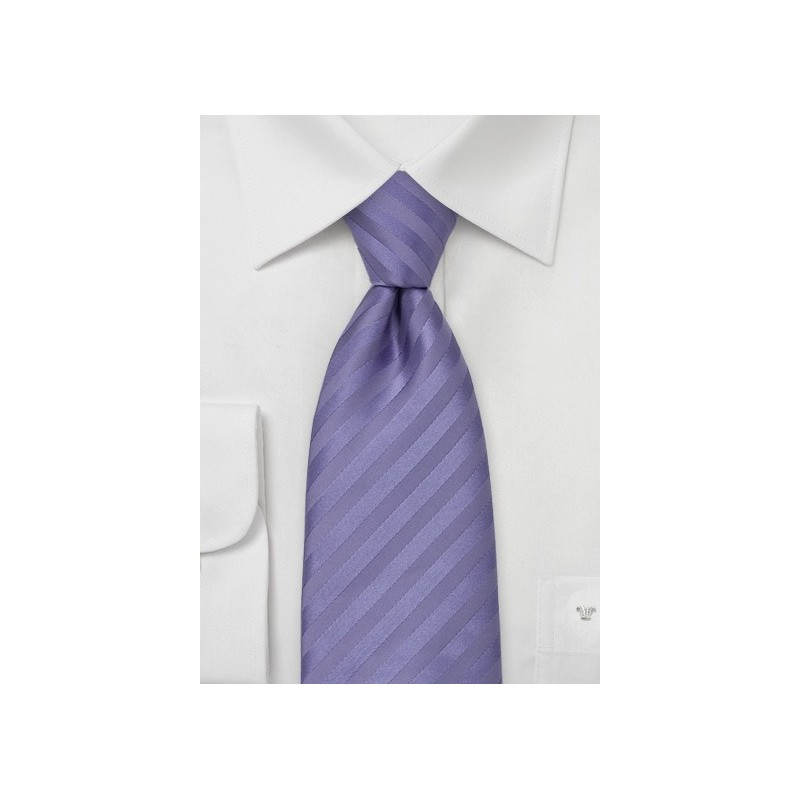 Lavender Purple Silk Tie