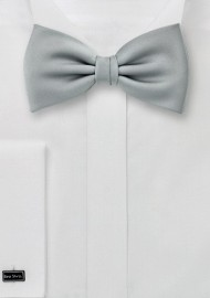 Light Silver Bow Tie
