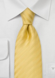 Lemon Yello Silk Necktie