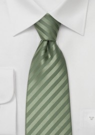 Kids Tie in Sage Green