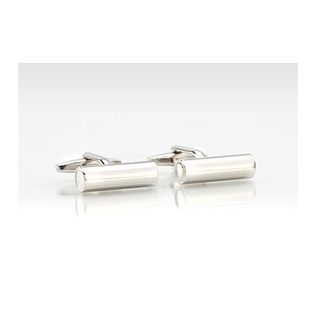 Silver Cufflink Bars