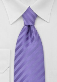 Solid Lavender-Purple Mens Tie