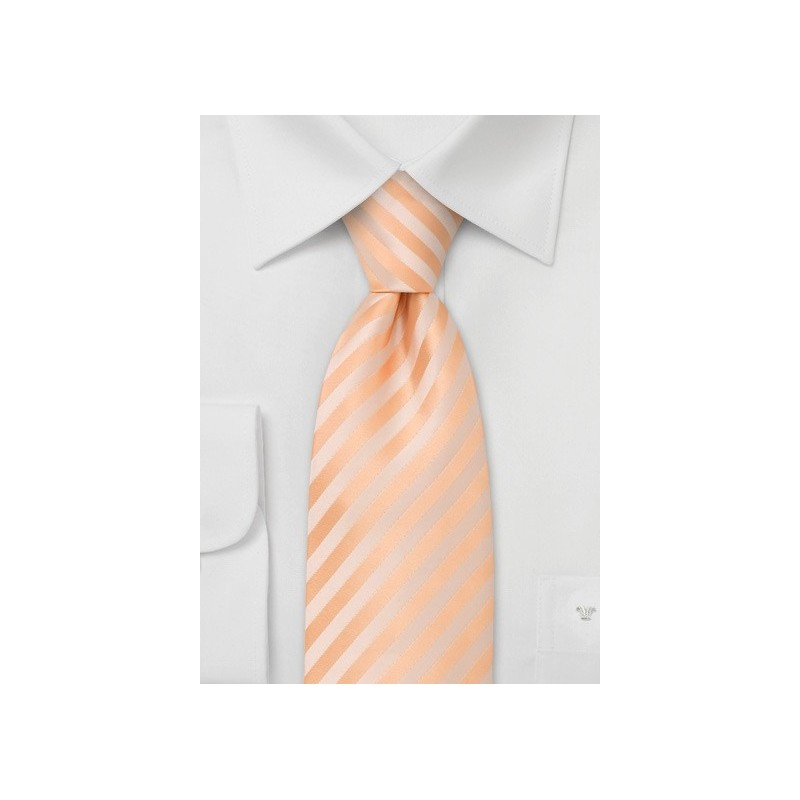 Peach Color Kids Necktie