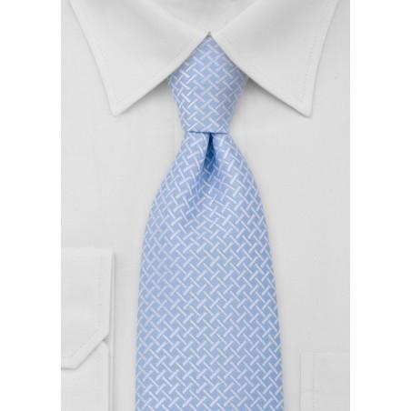 Powder Blue Mens Necktie
