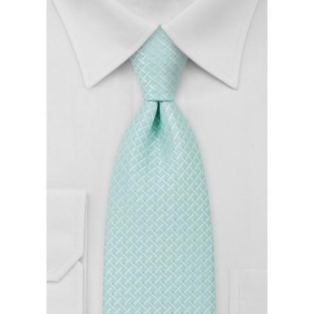 Light Cyan Blue Necktie