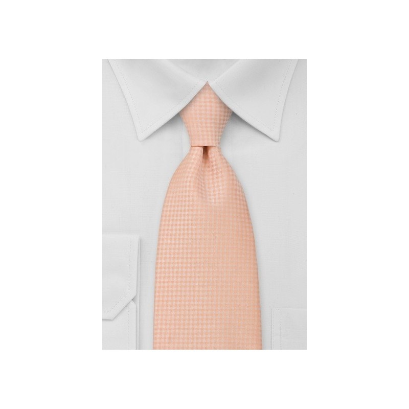 Light Orange Mens Necktie