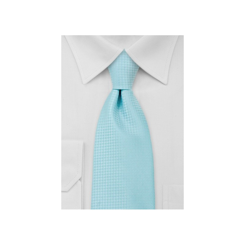 Electric Blue Mens Necktie