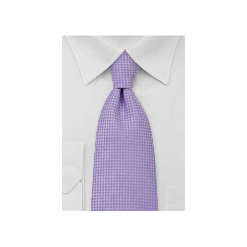 Light Lavender Mens Necktie