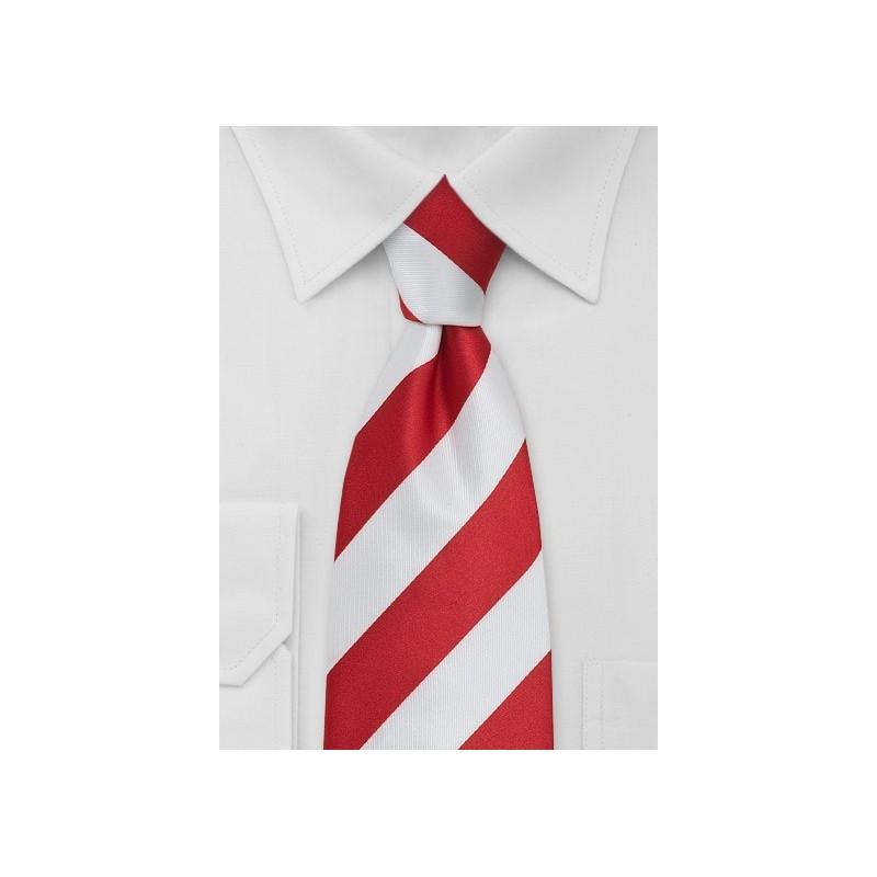 Candy Cane Striped Necktie