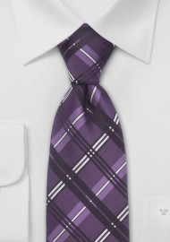 Italian Design Necktie in Purple
