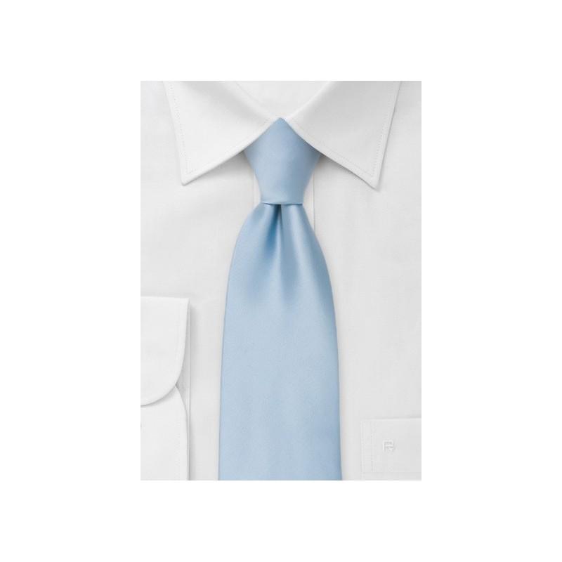 Solid Light Blue Kids Necktie
