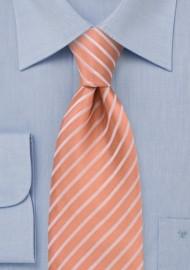 Salmon Pink Kids Necktie