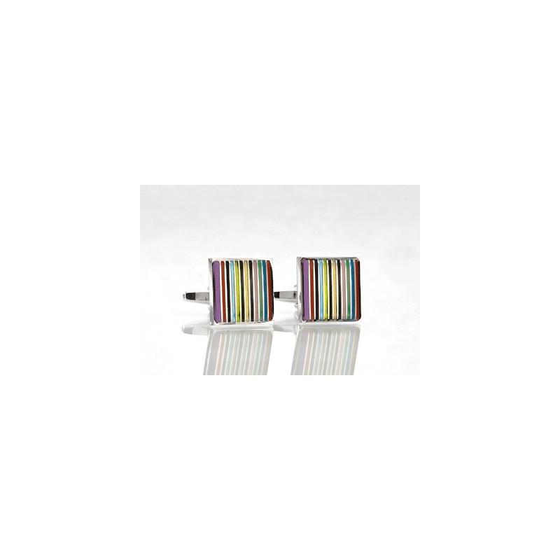 Trendy Colored Cufflinks
