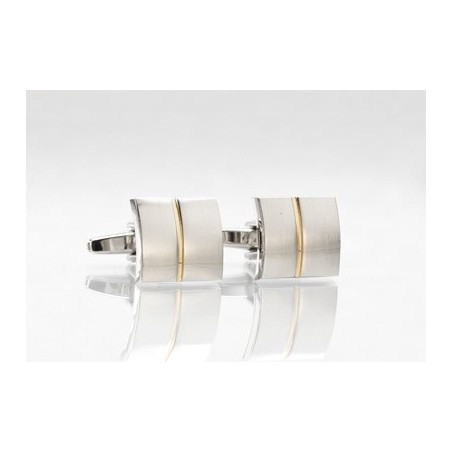 Silver and Gold Cufflinks