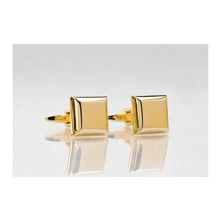 Golden Square Cufflinks