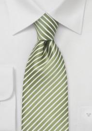 Extra Long Spring Green Necktie