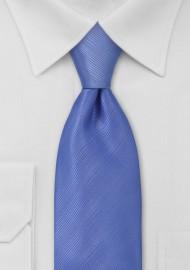 Solid Periwinkle Blue Necktie